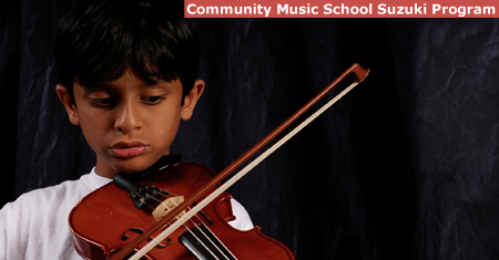 Community Music School Suzuki Program